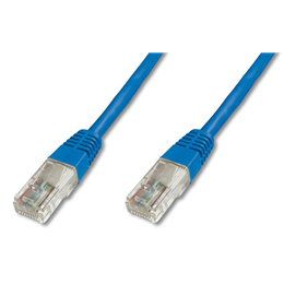UTP Cat.5e patch kabel 1m moder