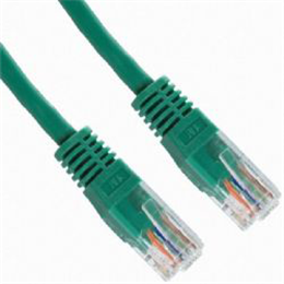 UTP Cat.5e patch kabel 2m zelen
